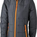 James & Nicholson Ladies Padded Light Weight Jacket