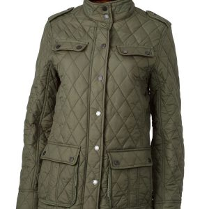 James & Nicholson Ladies Diamond Quilted Jacket