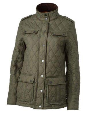 James & Nicholson Ladies Diamond Quilted Jacket