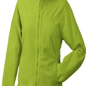 James & Nicholson Girly Microfleece Jacket Hooded