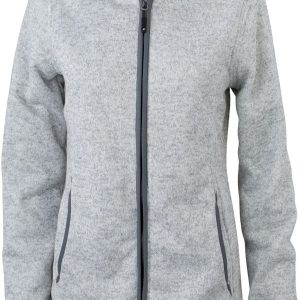 James & Nicholson Ladies Knitted Fleece Hoody