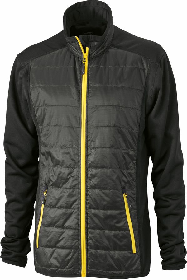 James & Nicholson Men's Hybrid Jacket