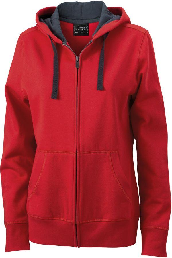 James & Nicholson Ladies' Hooded Jacket