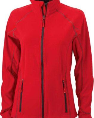 James & Nicholson Ladies Structure Fleece Jacket