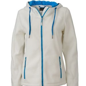 James & Nicholson Ladies Fleece Hoody