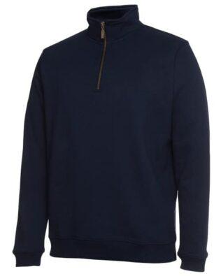 JBs Workwear 1/2 Zip Fleecy Sweat