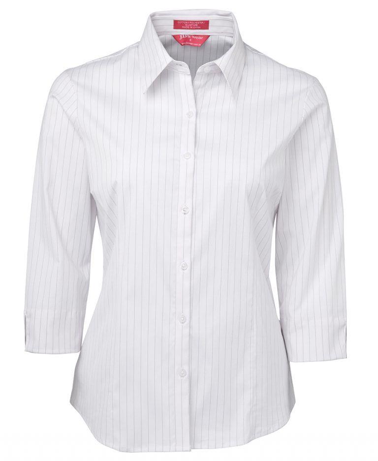 JB's Ladies Urban 3/4 Poplin Shirt