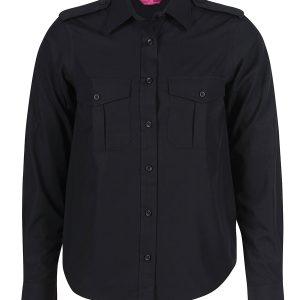 JBs Ladies Long Sleeve Epaulette Shirt