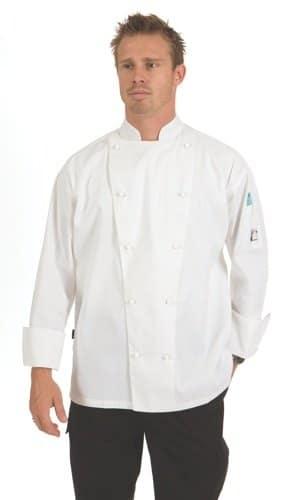 DNC Hospitality Workwear Traditional Chef Jacket Long Sleeve