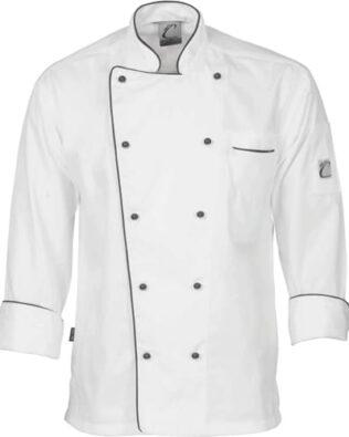 DNC Hospitality Workwear Classic Chef Jacket Long Sleeve