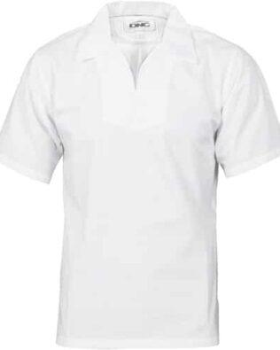 DNC Hospitality Workwear V-Neck Food Industry Jerkin Short Sleeve