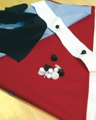 DNC Hospitality Workwear Chef Jacket Buttons