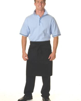 DNC Hospitality Workwear Cotton Drill 3/4 Apron With Pocket