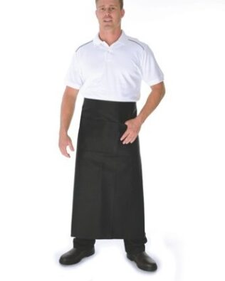 DNC Hospitality Workwear Cotton Drill Continental Aprons With Pocket