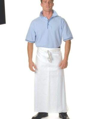 DNC Hospitality Workwear Cotton Drill Continental Aprons No Pocket