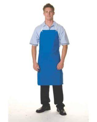 DNC Hospitality Workwear PVC Full Bib Apron Small