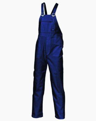 DNC Workwear Cotton Drill Bib And Brace Overall