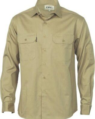 DNC Workwear Cool-Breeze Work ShirtLong Sleeve
