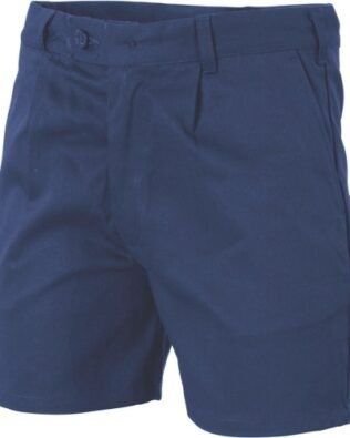 DNC Workwear Cotton Drill Belt Loop Shorts