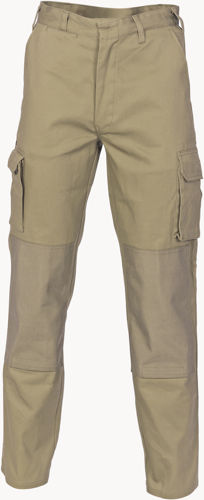 DNC Workwear Cordura Knee Patch Cargo Pants – Pads Not Included