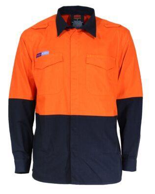 DNC Workwear DNC Inherent FR PPE1 2T L/W Shirt