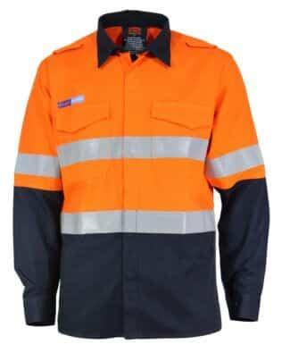 DNC Workwear DNC Inherent FR PPE1 2T L/W D/N Shirt