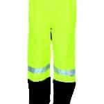 DNC Workwear Hi Vis FR & HRC2 D/N Rain Pants