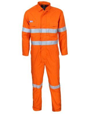 DNC Workwear DNC Inherent FR PPE2 D/N CoveralLS
