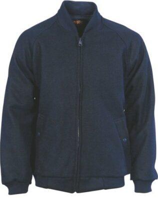 DNC Workwear Bluey Jacket with Ribbing Collar & Cuffs