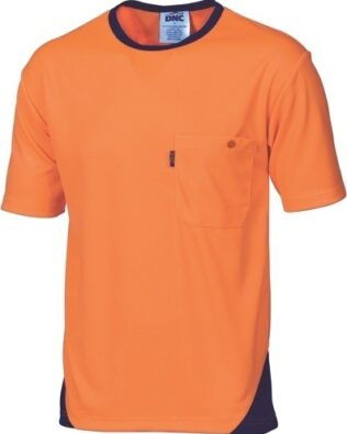 DNC Workwear Hi Vis Cool-Breathe Tee Short Sleeve