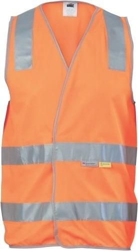 DNC Workwear Day/Night Hi Vis Safety Vests