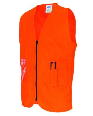 DNC Workwear Daytime Side Panel Safety Vests
