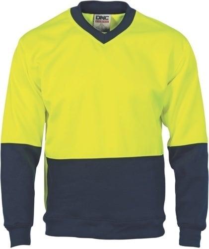 DNC Workwear WAVE Hi Vis Sublimated Polo