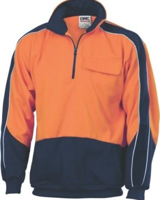 DNC Workwear GALAXY Hi Vis Sublimated Polo