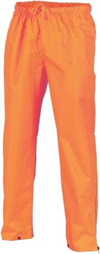 DNC Workwear Hi Vis Day Breathable Rain Pants