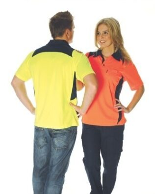 DNC Workwear Cool Breathe Action Polo Shirt Short Sleeve