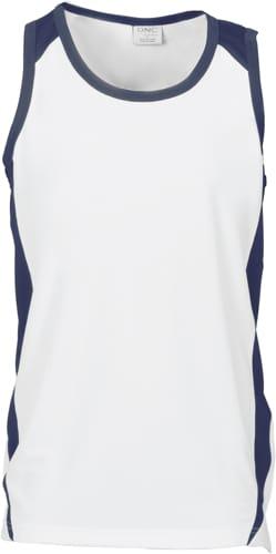 DNC Workwear Adult Cool-Breathe Contrast Singlet
