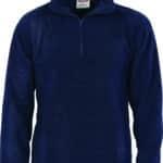 DNC Workwear Unisex Half Zip Polar Fleece