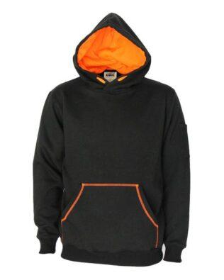 DNC Sportswear Kangaroo pocket super brushed fleece hoodie