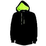 DNC Sportswear Full Zip Super Brushed Fleece Hoodie