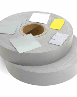 DNC Generic Reflective Tape, 200m Silver