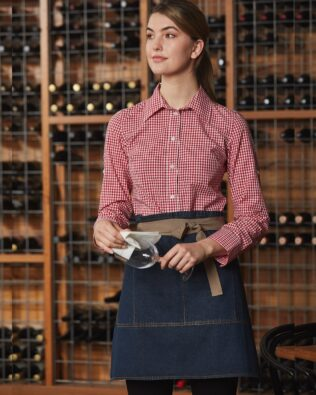 Benchmark East Village Half Denim Apron