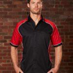 AIW Workwear Mens Arena Tri-Colour Contrast Shirt