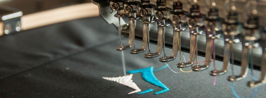 Branded Clothing Tips and Tricks embroidery