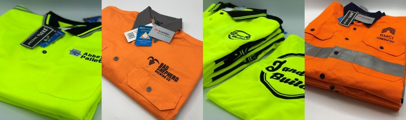 Branded Industrial Workwear - decorated
