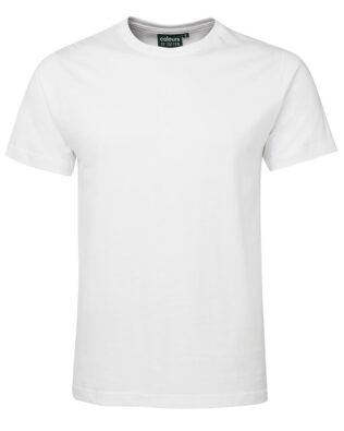 Colours of Cotton Fitted Tee – White