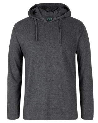 Colours of Cotton Long Sleeve Hooded Tee