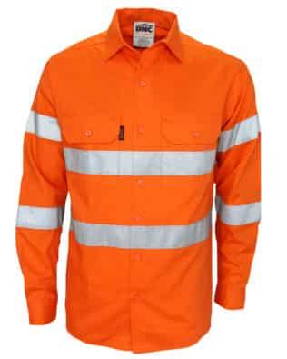 DNC Workwear Hi Vis Biomotion taped shirt