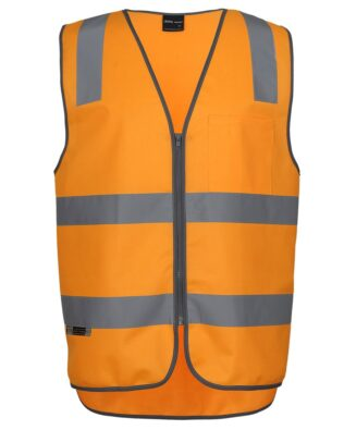 JBs Workwear Aust Rail (D+N) Safety Vest