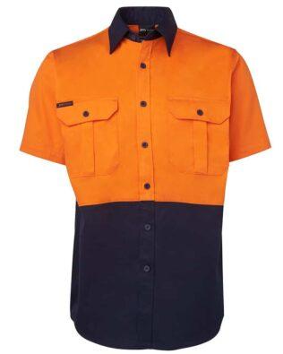 JBs Workwear Hi Vis Short Sleeve 190G Shirt